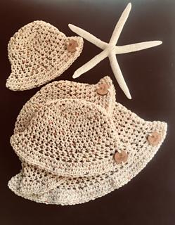 f4fac3079a5cd Ravelry  Summer Cotton Bucket Hats pattern by Shari Reid