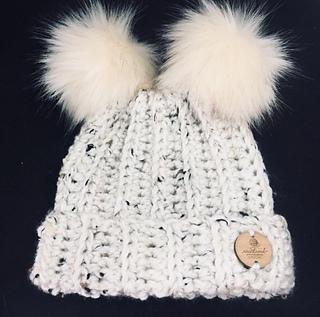 247405ecf814f Ravelry  Pompom Hats for Everyone pattern by Shari Reid