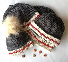 84750cccaef Ravelry  16 Lumberjack Hats pattern by Shari Reid