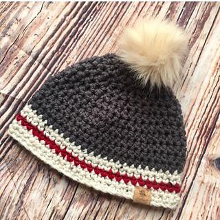 e0b93dfd03860 Ravelry  Lumberjack Hats pattern by Shari Reid