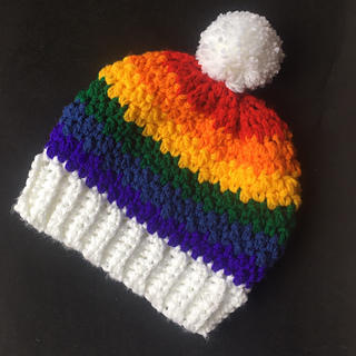 ef961b063405a Ravelry  Over the Rainbow Hats pattern by Shari Reid