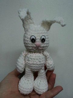 Amigurumi To Go Bigfoot Bunny : Ravelry: Little Bigfoot Bunny pattern by Sharon Ojala