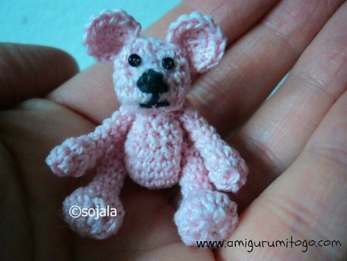 Ravelry Tiny Crochet Bear Pattern By Sharon Ojala