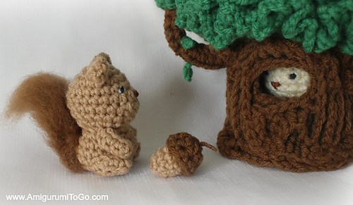 Free Amigurumi Squirrel Crochet Pattern : Ravelry: ace the tiny squirrel pattern by sharon ojala