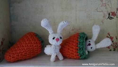 Amigurumi Mini Bunny : Ravelry: Flossy The Tiny Bunny pattern by Sharon Ojala