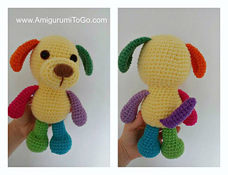 Amigurumi To Go Coraline : Ravelry: little bigfoot puppy pattern by sharon ojala