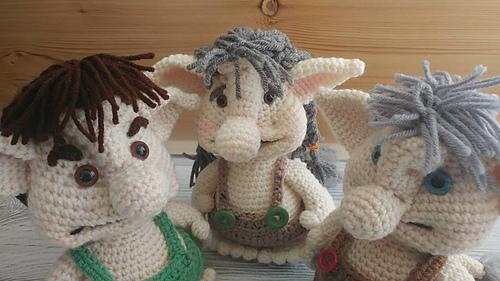 Ravelry Bobble Troll Pattern By Sharon Ojala Impressive Trolls Crochet Pattern