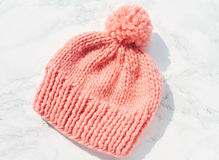 Simple Knitted Hat Pattern Straight Needles
