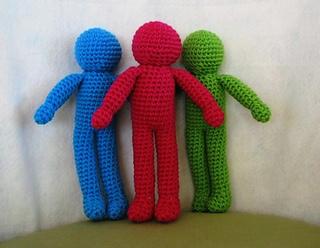 Amigurumi Easy Crochet Patterns : Ravelry basic character doll amigurumi pattern by sherri bush