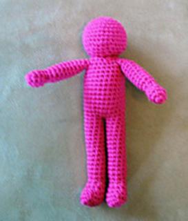 Ravelry: Basic Character Doll Amigurumi pattern by Sherri Bush