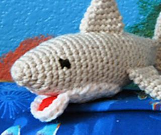 73ec7afdbea Ravelry  Great White Shark Amigurumi pattern by Sherri Bush