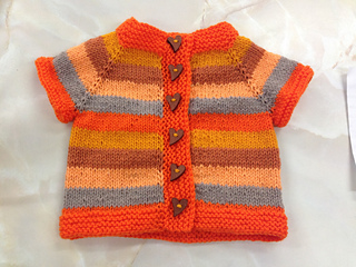 be4c44a8b Ravelry  Fuss Free Baby Cardigan pattern by Louise Tilbrook