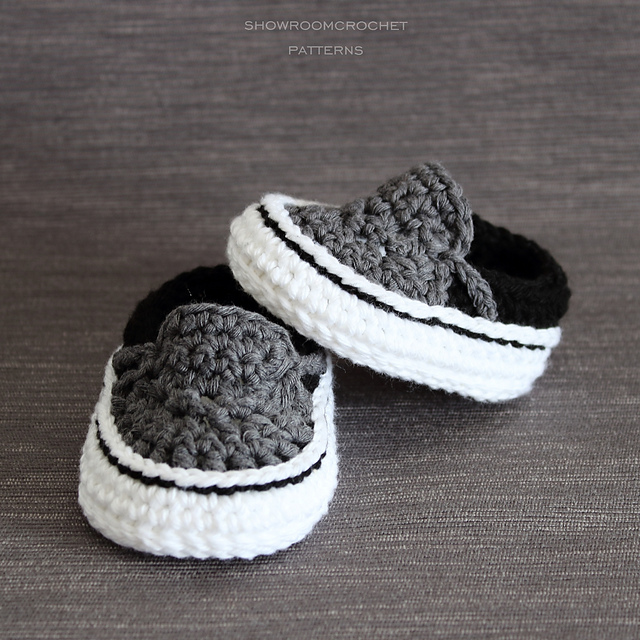 Ravelry Vans Style Baby Sneakers Pattern By Showroom Crochet