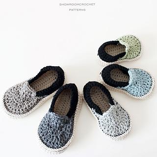 Ravelry Slippers For Toddler Pattern By Showroom Crochet
