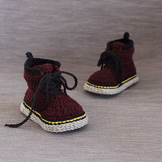 911c3a76e564af Ravelry  Martens style slippers pattern by Showroom crochet
