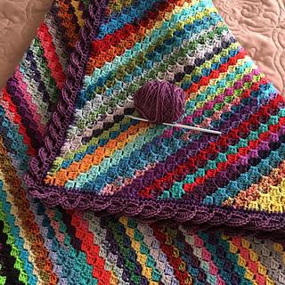 Ravelry Sit N Spin S C2c Blanket