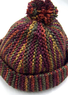 f89cba17789 Ravelry  shortrows sideways hat pattern by Kristi Porter