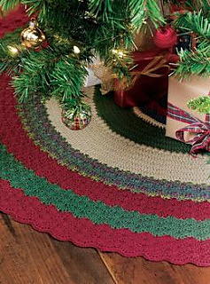 Ravelry Yarn Creations For Christmas Tree Skirt Pattern By Margret Willson