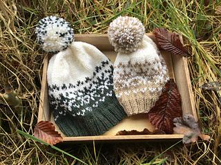 Ravelry  Woolly Snowflakes Hat pattern by Sylvia Leake 0350f68b274
