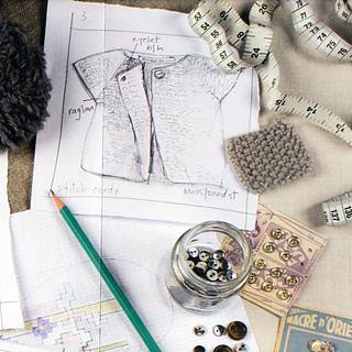 3c1b7e4e1 Ravelry  Stitch Cardigan pattern by Erika Knight