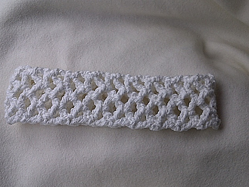 Ravelry Crochet Headband Mesh Style Pattern By Cheryl Murray