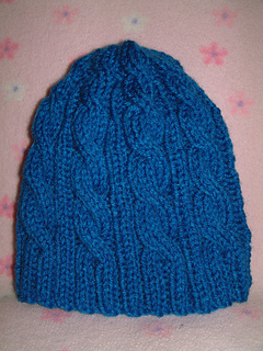 Ravelry  3AM Cable Hat pattern by SmarieK c25ace00976