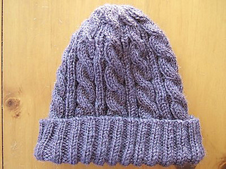 Ravelry  3AM Cable Hat pattern by SmarieK 135017f56d6