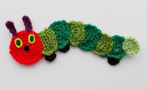 Ravelry Hungry Caterpillar Applique Pattern By Karen Goss