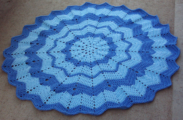 Ravelry Round Ripple 12 To 24 Points Pattern By Donna Mason Svara
