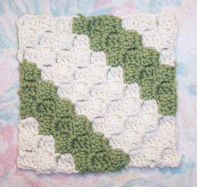 Ravelry Diagonal Box Stitch Square 6x6 Pattern By Donna Mason Svara