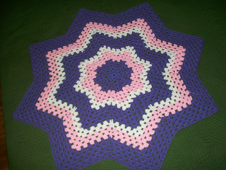 Ravelry Granny Round Ripple 8 Points Pattern By Donna