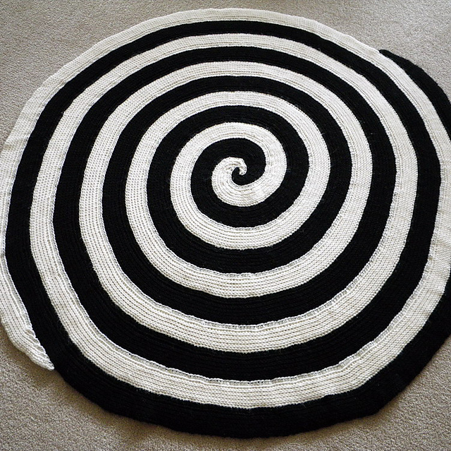 Ravelry Double Spiral Afghan Pattern By Margaret Zellner