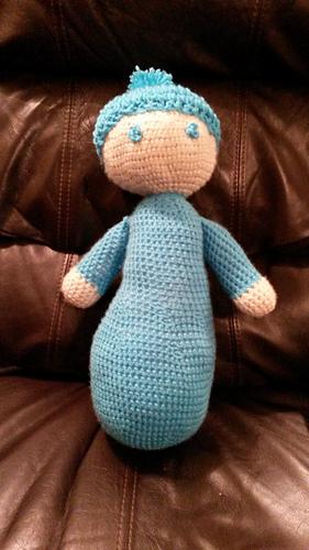 Ravelry Large Amigurumi Baby Doll Pattern By Megi Scott