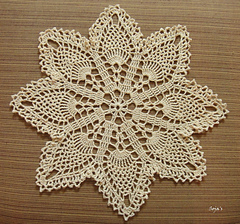 Easy Pineapple Doily Pattern By Sylvia Landman Ravelry