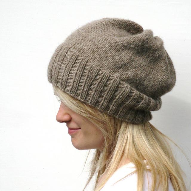 Ravelry Dk Eco Slouchy Hat Pattern By Haloopa Joop