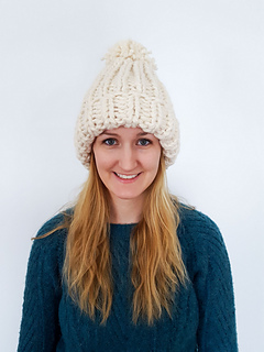 Ravelry  Chunky Knit Hat pattern by Sparkly Twig c2500cd3016