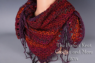 Ravelry Vestured Scarf Pattern By The Perfect Knot