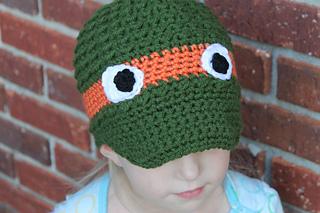 19310eaf5f1 Ravelry  Ninja Turtle Newsboy AND Beanie Hat pattern by Mindy Hudson