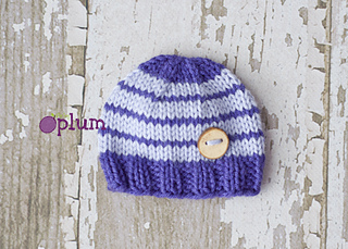 65594d990a13 Ravelry  Baby In Bloom Hat pattern by Fiber Flux   Jennifer Dickerson