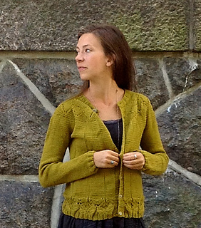 Olivia cardigan pattern by Veronika Lindberg