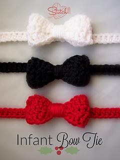 Ravelry: Bow Tie pattern by Stitch11