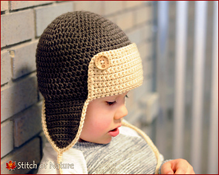 f62613d89c4 Ravelry  The Skylar Aviator Hat pattern by Jenia Daugherty