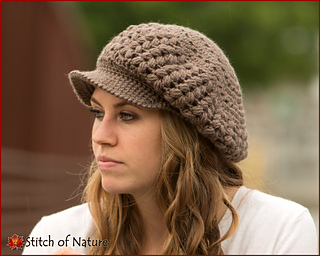 be09e35e4cf Ravelry  The Madison Newsboy Hat pattern by Jenia Daugherty