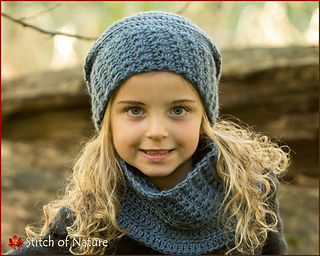 1a207271e45 Ravelry  The Belleville Slouchy Hat and Cowl pattern by Jenia Daugherty