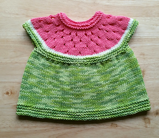 424651ff1 Ravelry  Watermelon Baby Cardigan pattern by Stitchylinda Designs