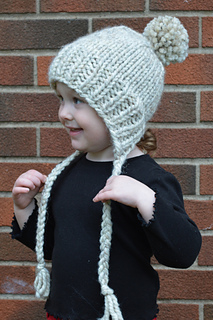 5ebb39cedf9 Ravelry  Split-Brim Toddler Hat pattern by McGehee Textiles