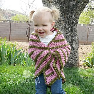 Ravelry: Sassy Girl Triangle Shawl pattern by BreeAnna Laub