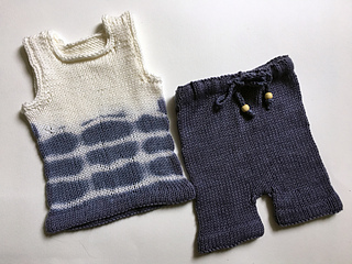 87ab5d5690a Ravelry  Baby Tank Top   Shorts Set pattern by Katherine Teixeira