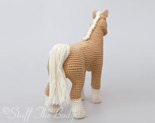 Ravelry Abby The Horse Amigurumi Pattern By Stuffthebody