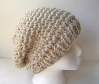 Ravelry  Chunky Crochet Slouch Hat pattern by Rhea Allais 8c02cb09f99